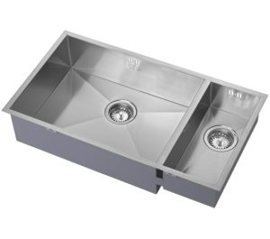 one and a half bowl sink