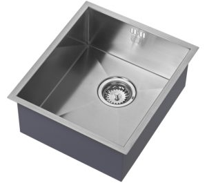 one bowl sink