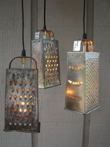 cheese grater lights