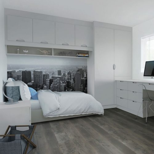 built in wardrobes Matt Light Grey