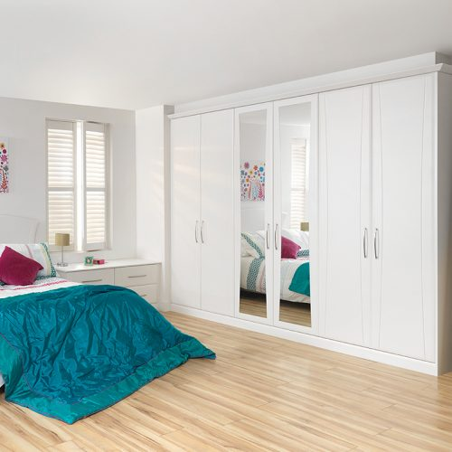 Fitted Wardrobes White Gloss