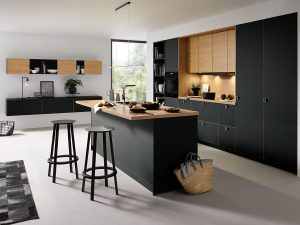 schuller Onyx Black Matt kitchen